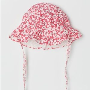 H&M Baby Girl Sun Hat with Ties